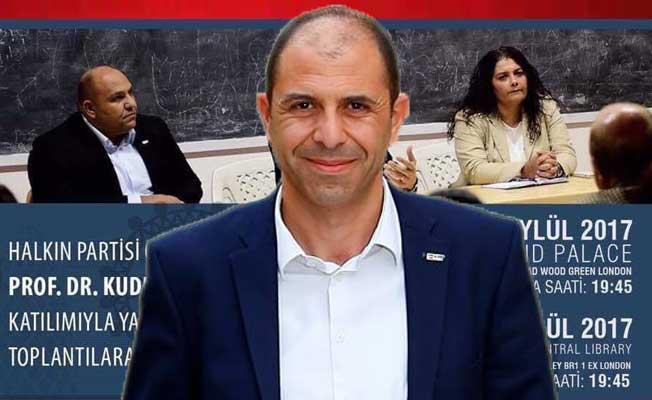 Halkın Partisi, Londra'da Kıbrıs Türk Toplumuyla Buluşuyor
