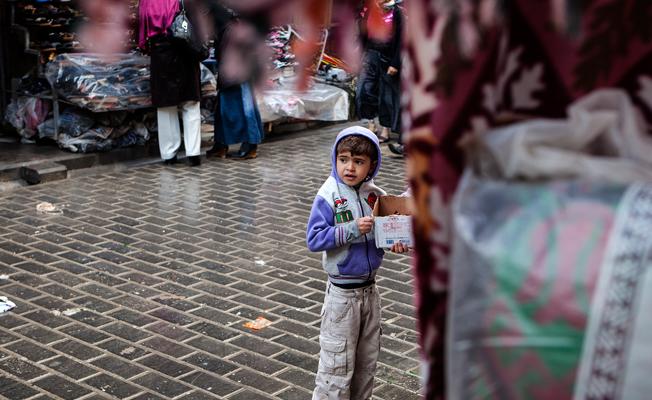İstanbul'da çocuk dilendiren suç örgütüne operasyon