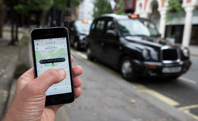 UBER'den Londra taksileri için radikal karar!
