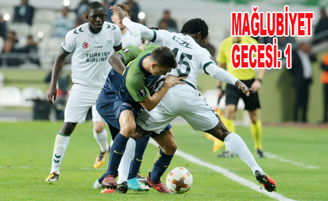 Atiker Konyaspor: 0 - Salzburg: 2