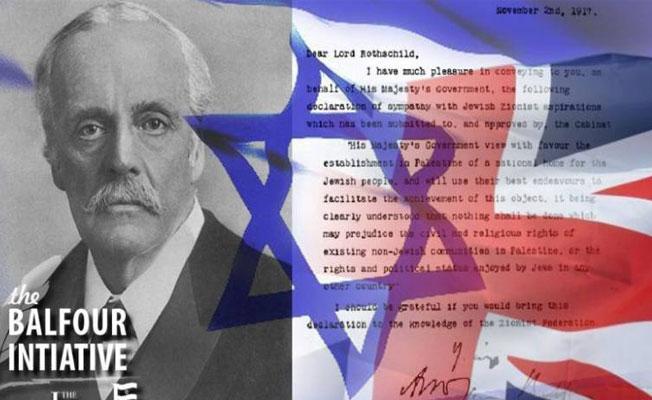 Filistin topraklarının İngiliz anahtarı: Balfour