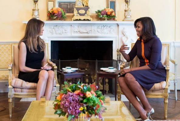 Melania Trump, Michelle Obama'dan daha az harcıyor