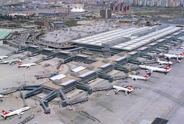 Atatürk Havalimanı Avrupa'nın 4'üncüsü oldu