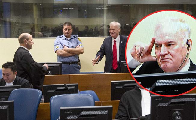 'Bosna Kasabı' Ratko Mladiç, soykırımdan cezasını buldu