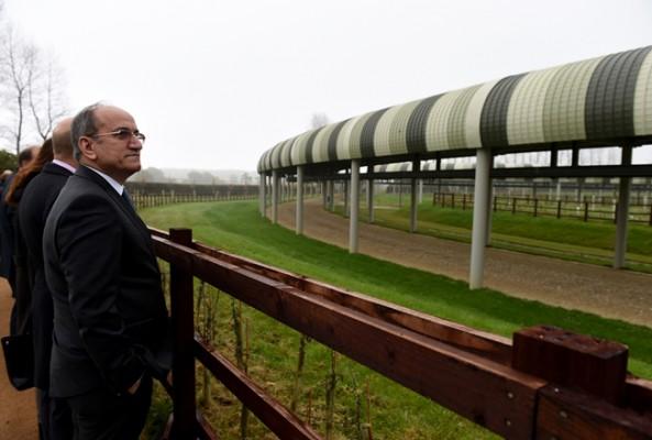 İngiltere'deki Türk projesinin açılışına sis engeli