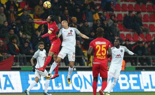 Kayserispor, Medipol Başakşehir karşısında iyi başladı ama...
