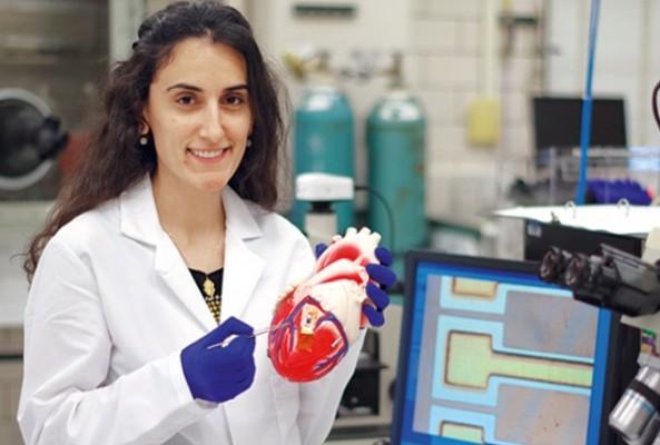 Türk kızı, insan enerjisi ile çalışan kalp pili yaptı
