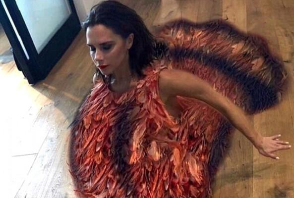 Victoria Beckham, Hindi kostümüyle alay konusu oldu