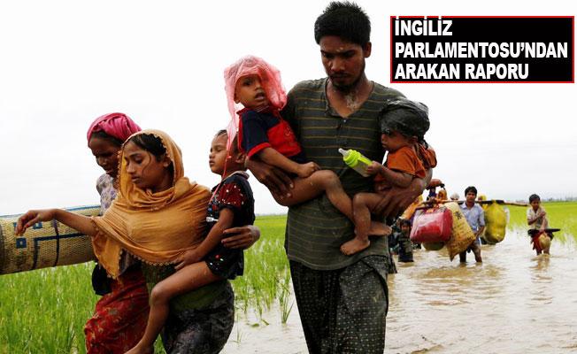 'Arakan'da şiddet etnik temizlik boyutunda'