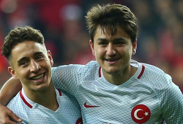 En değerli genç futbolcular listesinde 4 Türk