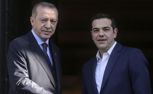 Erdoğan Yunan Mevkidaşı ve Çipras'la bir araya geldi