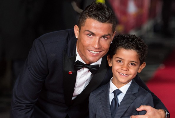Real Madrid'li Ronaldo'ya oğlundan darbe