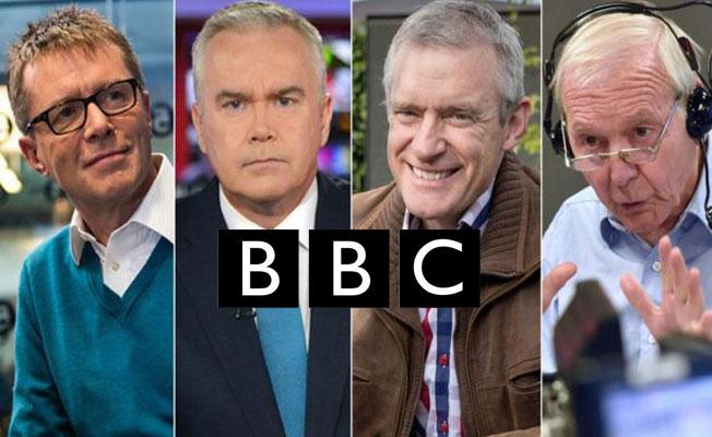 BBC'de 'kadın erkek eşitliği için' erkek sunucu maaşları azaltıldı