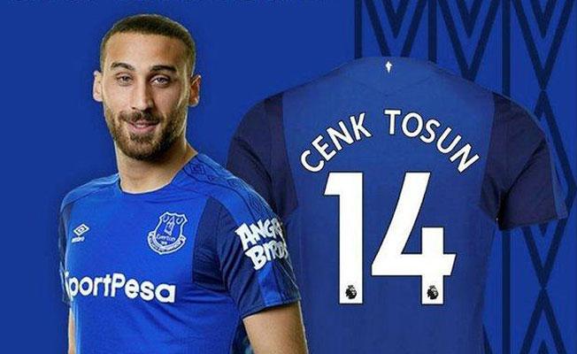 Cenk Tosun, Everton'ın internet sitesine konuştu