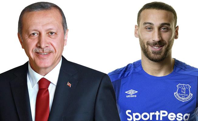 Cumhurbaşkanı Erdoğan'dan, Cenk Tosun'a tebrik etti