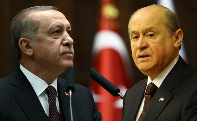 Erdoğan'dan MHP lideri Bahçeli'ye davet