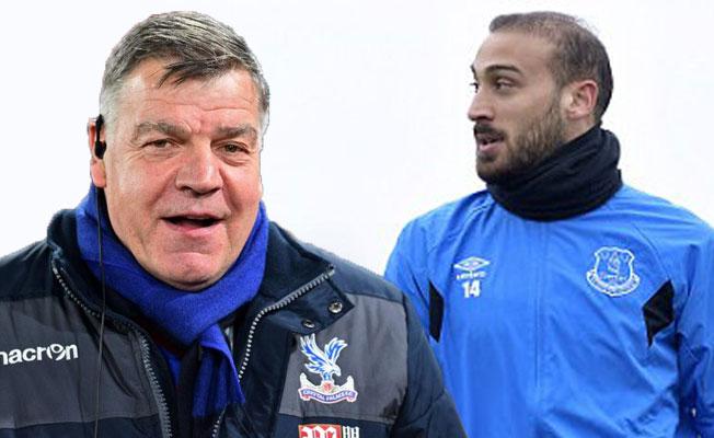 Everton Teknik Direktörü Allardyce, Cenk Tosun için konuştu