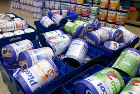Fransa'da bakterili bebek maması satılmış