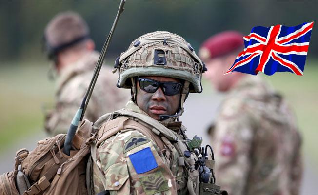 İngiliz ordusundan çarpıcı kampanya