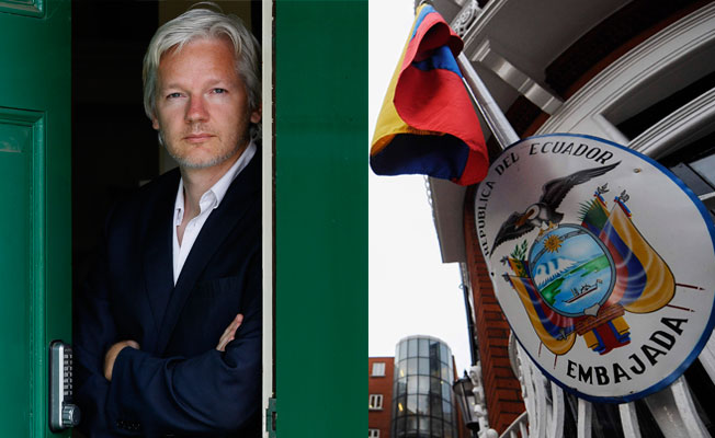 İngiltere Assange'a diplomatik statü vermedi
