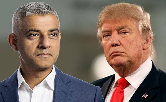 Sadıq Khan'dan Trump'a gönderme: Mesajı almış