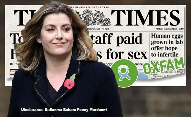 Çocuk Yardım Kuruluşu Oxfam'da Seks Skandalı