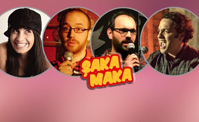 Londra'da Türkçe Stand-up komedi gösterisi: Şaka Maka