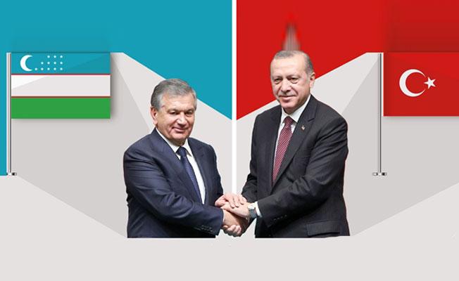 Türkiye-Özbekistan ilişkileri gelişerek güçleniyor