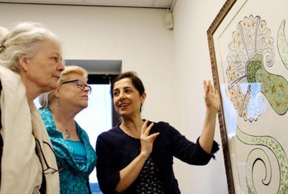 Amsterdam'da 'Güzelliğin yolculuğu' sergisi açıldı