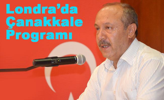 Prof. Mehmet Çelik Londra'da Çanakkale Anma Programında Konuşacak