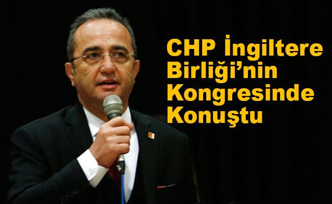Bülent Tezcan, Londra'da CHP'nin İktidar Reçetesini Açıkladı