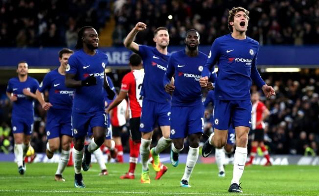 Chelsea, geriye düştüğü maçta Southampton'u 10 dakikada devirdi