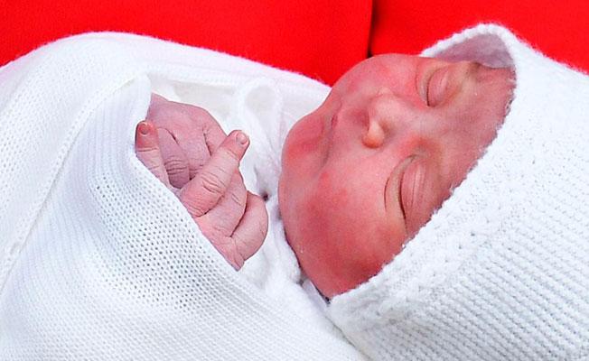 İşte Kraliyet Ailesi'nin yeni prensi