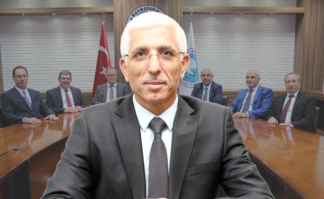 Marmarabirlik'te Hidamet Asa Güven Tazeledi