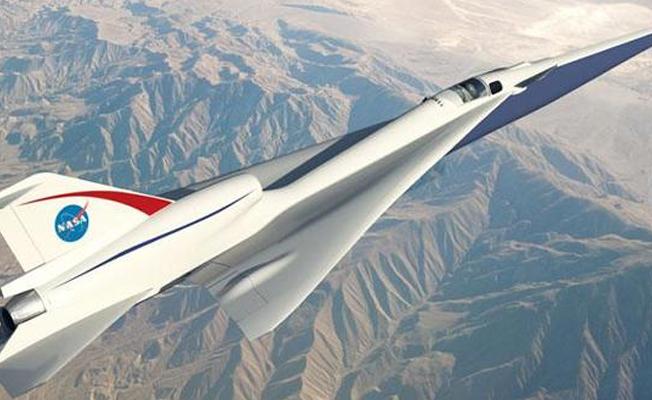 NASA'dan 'sessiz' süpersonik uçak projesi