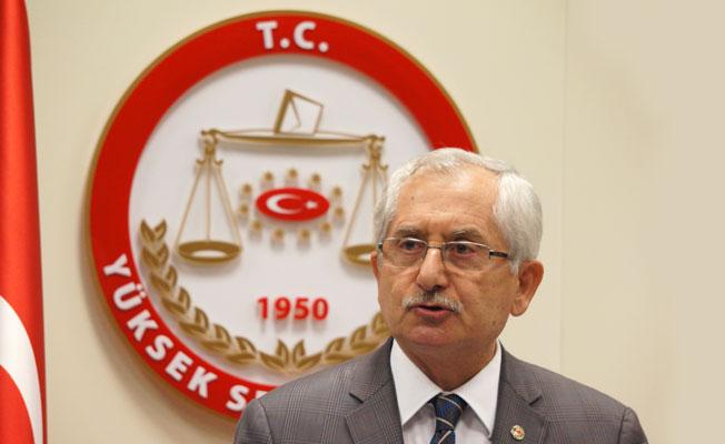 YSK Başkanı Güven'den 'Seçim Takvimi' Açıklaması