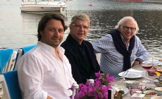 Arsene Wenger, tatil için Bodrum'da