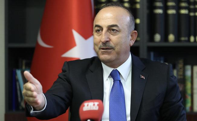Çavuşoğlu Financial Times'a konuştu: YPG, Menbiç'ten çekilecek