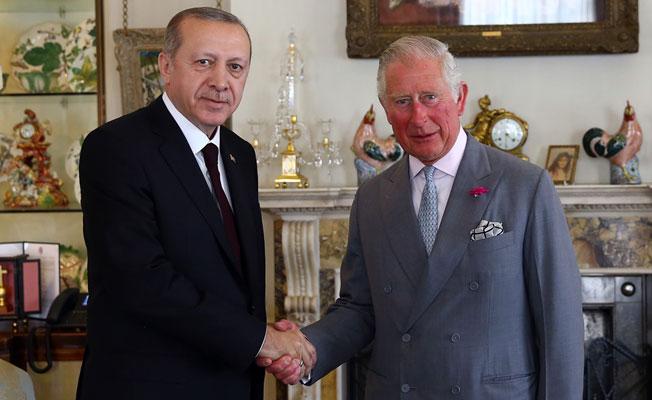 Cumhurbaşkanı Erdoğan, Prens Charles İle Görüştü