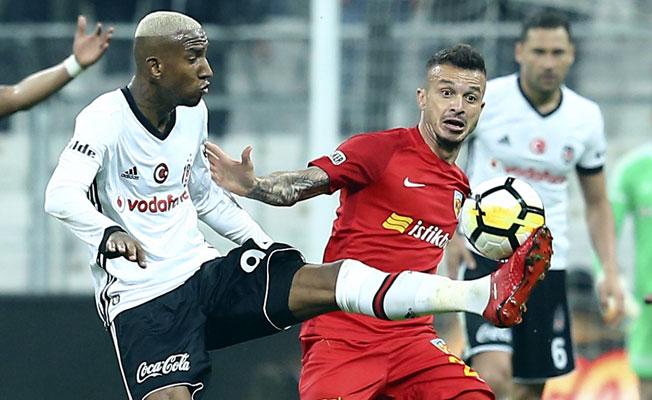 Eksik Beşiktaş, Kayserispor'u rahat geçti