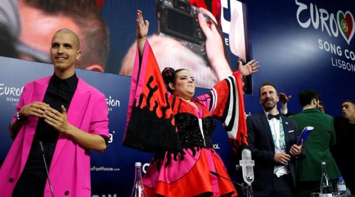 Eurovision şarkı yarışması'nı İsrail kazandı