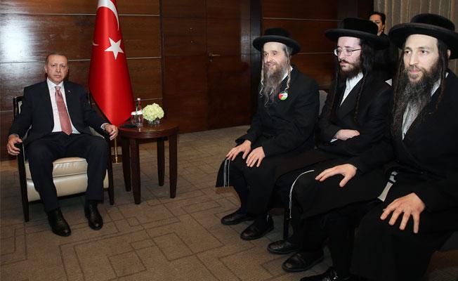 İsrail Karşıtı Hahamlar Erdoğan'ı Ziyaret Edip Dünya Liderlerine Mesaj Verdi