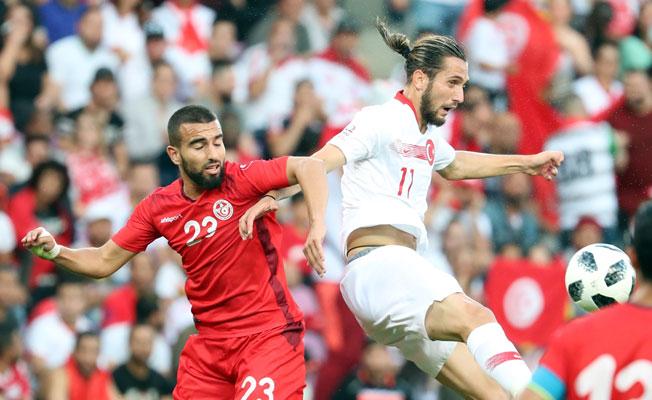 A Milli Takım Tunus Karşısında Beraberliğe Razı Oldu