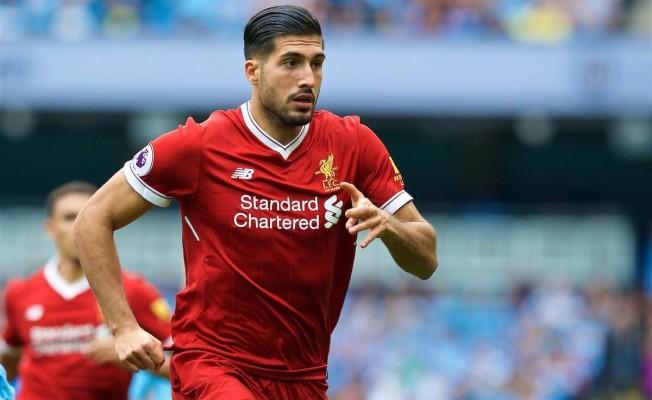 Emre Can Liverpool'a veda ediyor