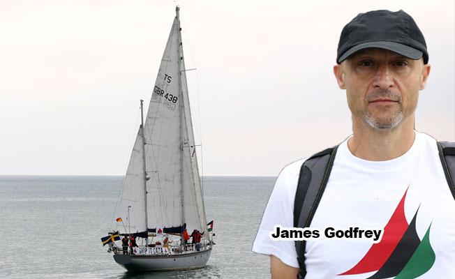 'Gazze'ye Özgürlük Filosu' İngiltere'nin Brighton Limanında
