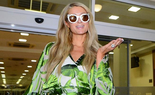 Paris Hilton: Türk insanları çok sıcak