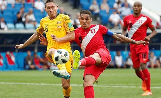 Peru, Dünya kupasına Avustralya galibiyeti ile veda etti