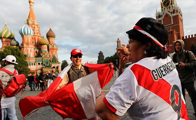 Rusya'da futbol heyecanı artıyor