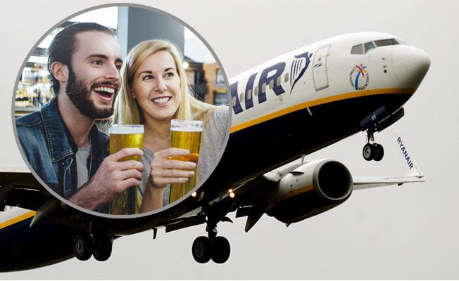 Ryanair'den havalimanlarında alkol satışının kısıtlanmasını istedi