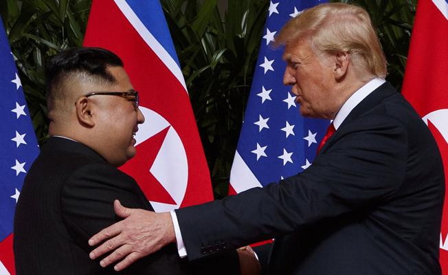 Trump'a göre Artık Kuzey Kore'den nükleer tehdit yok